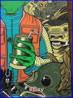 Star Wars movie art Mondo Poster Han Solo Shot First Greedo Florian Bertmer SDCC
