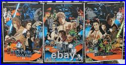 Star Wars movie poster 24x36 by Vance Kelly A New Hope Screen Print Lmt Edition