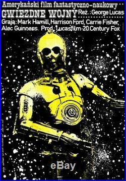 Star Wars original film poster polish