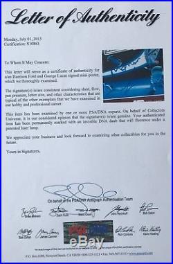 Star Wars signed empire poster harrison ford carrie fisher mark hamill k. Baker