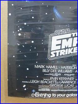 Star Wars the Empire strikes back the Movie 1983 Vintage Poster Inv#G1895