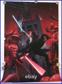 Star WarsThe Last Jedi Screen Print By Rory Kurtz Limited Edition MondoCon 2019