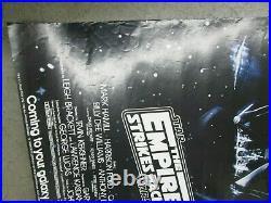 Star wars George Lucas Poster Vintage 1983 The Empire strikes back movie C355