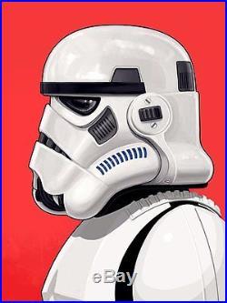 Stormtrooper Star Wars Mondo Portrait Art Print Poster Mike Mitchell S/N /2460