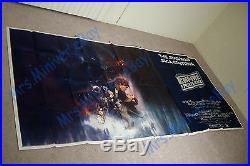 THE #1 RAREST Star Wars THE EMPIRE STRIKES BACK POSTER MOVIE PREMIERE 8-SHEET
