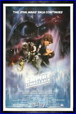 THE EMPIRE STRIKES BACK CineMasterpieces MOVIE POSTER ROLLED STAR WARS 1980