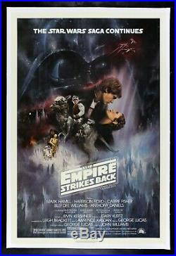 THE EMPIRE STRIKES BACK CineMasterpieces RECALLED MOVIE POSTER STAR WARS 1980