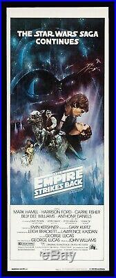 THE EMPIRE STRIKES BACK CineMasterpieces STAR WARS ORIGINAL MOVIE POSTER 1980