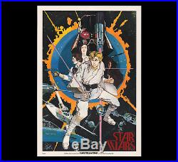 THE VERY 1st STAR WARS MOVIE POSTER OR PRODUCT OF ANY KIND 1976 HOWARD CHAYKIN