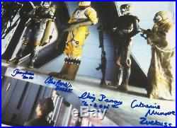 The Bounty Hunters STAR WARS ESB Signed Autograph 20x30 Photo Poster by 6 Vader+