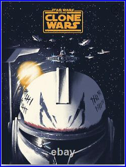 The Clone Wars Lyndon Willoughby Star Wars Poster #/175