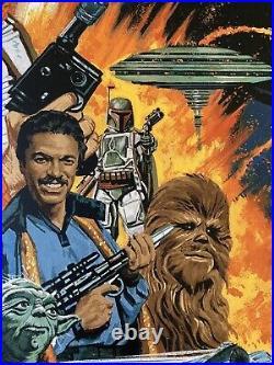 The Empire Strikes Back Movie Poster 53/100 Star Wars Art Print Paul Mann mondo