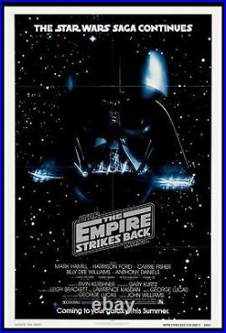 The Empire Strikes Back Star Wars Darth Vader 1980 Nss Style Advance 1-sheet