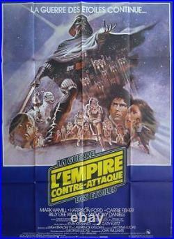 The Empire Strikes Back Star Wars / Lucas Original Large French Movie Poster