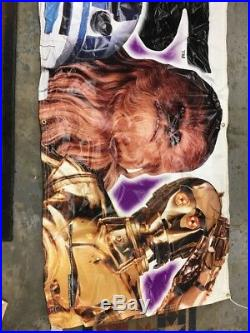 The Star Wars Trilogy Special Edition HUGE Banner Poster. Taco Bell. 1997 Promo