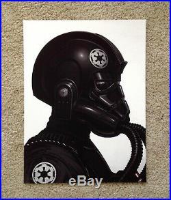 Tie Fighter Pilot Mike Mitchell Star Wars Portrait Art Print Poster Mondo