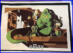 Tom Whalen Star Wars Return Of The Jedi Mondo Movie Print Poster Jabba's Palace