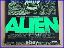 Tyler Stout ALIEN Variant Mondo Poster Screen Print Signed Thing Star Wars