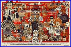 Tyler Stout ISLE OF DOGS Regular Edition Poster Spoke Art Mondo Star Wars LE/500