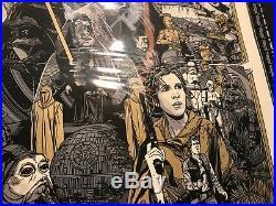 Tyler Stout Star Wars Revenge of the Jedi Variant Mondo Art Print Poster Return