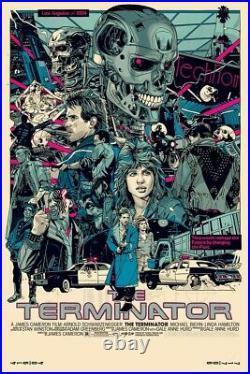 Tyler Stout Terminator art print movie poster like Mondo Star Wars Akira Thing