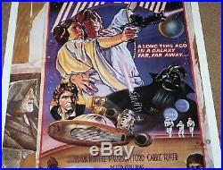 US 1-Sheet-Rolled! George Lucas STAR WARS 1978 Style-D Numbering Movie Poster