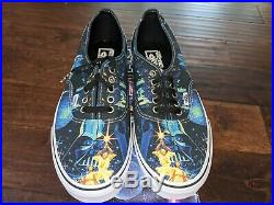 Vans Star Wars x Authentic A New Hope Movie Poster NEW RARE Vintage Mens 10.5