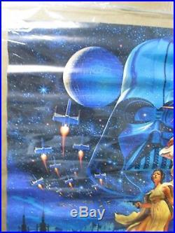 Vintage Poster Star Wars Hildebrandt 1977 movie Inv#G2554