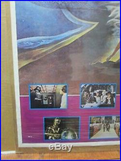 Vintage Poster Star Wars Starwars the Movie 1970's Inv#4156