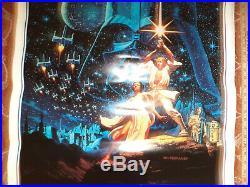 Vintage STAR WARS Original Greg & Tim Hildebrandt 1992 Movie Poster Style B