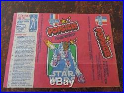 Vintage Star Wars Han Solo Popsicle Ice Cream icy pole Wrapper PAULS TOLTOYS NEW