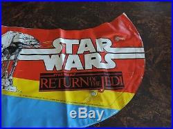 Vintage Star Wars ROTJ 1983 Inflatable Aqua Fun Canoe Australian exclusive Jedi