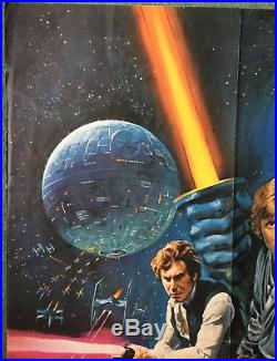 -star Wars- Original W. E. Berry 1977 Oscar Awards Style-c Film Movie Quad Poster